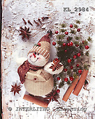 Interlitho, CHRISTMAS ANIMALS, photos+++++,snowman,red berries,KL2984,#xa#