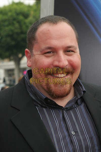 "JON FAVREAU .""Zathura: A Space Adventure"" Los Angeles Premiere held at the Mann Village Theater.  .USA, United States.6th November 2005.Ref:ADM/ZL.portrait headshot goatee beard eye contact couple smiling posed.www.capitalpictures.com.sales@capitalpictures.com.© Capital Pictures.."