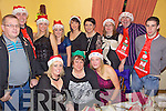 Xmas Party - Staff from McHale's Stretford End Bar and The Causeway Diner having a wonderful time at their Christmas Party held in Harty's Bar, Causeway on Friday night. Seated l/r Imelda O'Grady, Mary Egan and Mairead Walsh, standing l/r John McHale, Brian Duffy, Laura Murphy, Cliona Hickey, Gillian O'Leary, Catherine McHale, Tina Egan, Neilus Slattery and Cathal White.................................................................................................................................................................................................................................................................................................................... ............