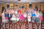 Vicky McCarthy, Manor, Tralee (seated centre) had a massive 30th birthday party in the Meadowlands hotel, Tralee last Saturday night surrounded by many friends and family.