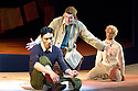 Herges Adventures of Tin Tin directed by Rufus Norris. A Young Vic Theatre Production. With Russell Tovey as Tin Tin, Tom Wu as Tharkey,Simon Trinder as Snowy. Opens at the Barbican Theatre on 14/12/05. CREDIT Geraint Lewis