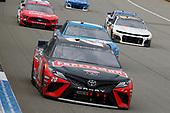 #20: Erik Jones, Joe Gibbs Racing, Toyota Camry Craftsman / Sport Clips and #19: Martin Truex Jr., Joe Gibbs Racing, Toyota Camry Auto Owners Insurance