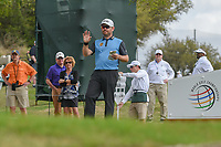 Louis Oosthuizen (RSA) looks over his tee shot on 3 during day 2 of the World Golf Championships, Dell Match Play, Austin Country Club, Austin, Texas. 3/22/2018.<br /> Picture: Golffile | Ken Murray<br /> <br /> <br /> All photo usage must carry mandatory copyright credit (&copy; Golffile | Ken Murray)