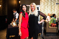 Reina Jabbour and Ali Lewis attend Caffeination Without Representation Charity Brunch event by Coexist on May 31, 2014 (Photos by Joy Asico / Guest of a Guest)
