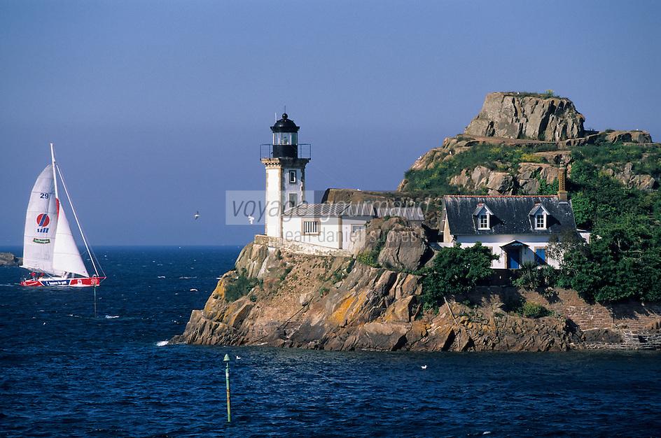 Europe/France/Bretagne/29/Finistère/Carantec/La pointe de Penn Al Lann: Vue sur l'île Louet