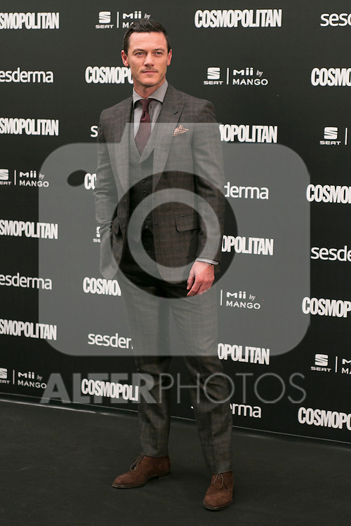 Luke Evans attend the photocall of the Cosmopolitan Fun Fearless Female 2014 Awards at the Ritz Hotel in Madrid, Spain. October 20, 2014. (ALTERPHOTOS/Carlos Dafonte)