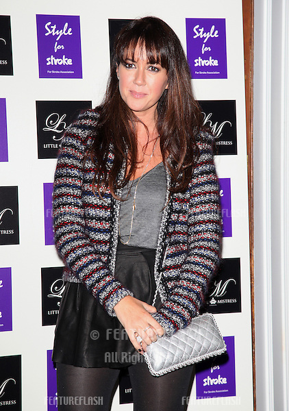 Sheree Murphy arriving for the Style for Stroke Party, 5 Cavendish Square, London. 02/10/2012 Picture by: Alexandra Glen / Featureflash