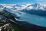 Alaska; Glacier; mountains, lake