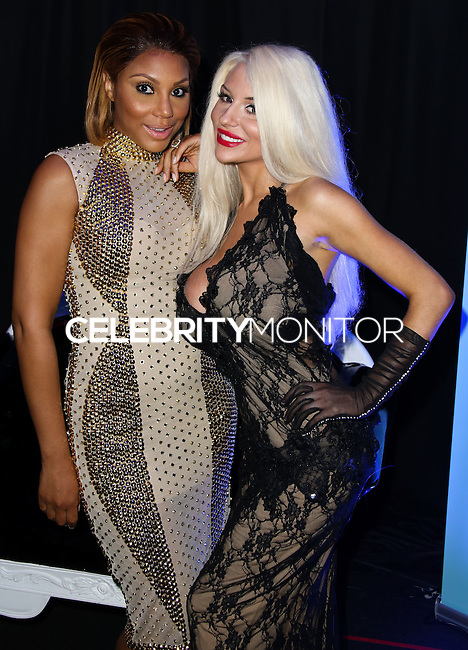 LOS ANGELES, CA, USA - MARCH 14: Tamar Braxton, Courtney Stodden at the Style Fashion Week Los Angeles 2014 7th Season - Day 5 held at L.A. Live Event Deck on March 14, 2014 in Los Angeles, California, United States. (Photo by Xavier Collin/Celebrity Monitor)