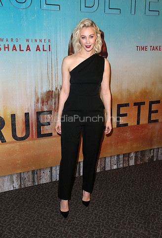 LOS ANGELES, CA - JANUARY 10: Sarah Gadon, at the Los Angeles Premiere of HBO's True Detective Season 3 at the Directors Guild Of America in Los Angeles, California on January 10, 2019. Credit: Faye Sadou/MediaPunch