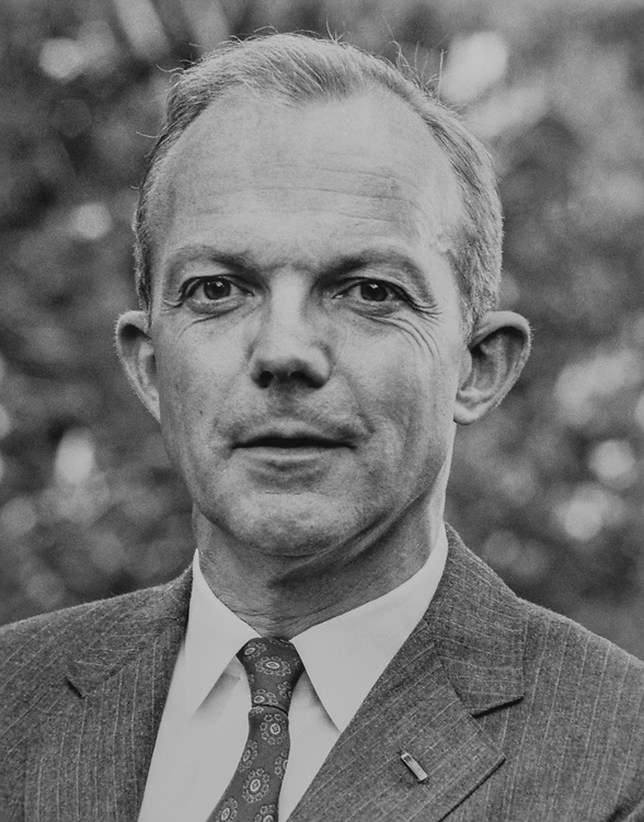 Portrait of Rep. John F. Seiberling, D-Ohio. 1981 (Photo by CQ Roll Call)