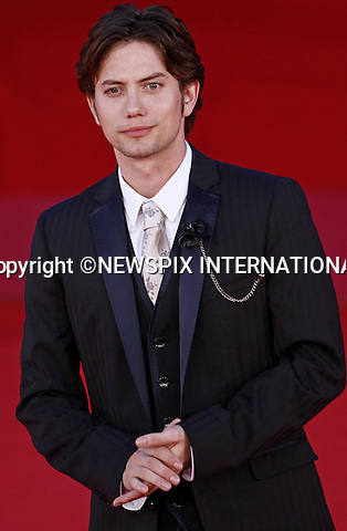 "JACKSON RATHBONE.attends the premiere of ""The Twilight Saga - Breaking Dawn Part 1"" at the 6th Rome International Film Festival, Rome, Italy_30/10/2011.Mandatory Credit Photo: ©Matteo Ciambelli/NEWSPIX INTERNATIONAL..**ALL FEES PAYABLE TO: ""NEWSPIX INTERNATIONAL""**..IMMEDIATE CONFIRMATION OF USAGE REQUIRED:.Newspix International, 31 Chinnery Hill, Bishop's Stortford, ENGLAND CM23 3PS.Tel:+441279 324672  ; Fax: +441279656877.Mobile:  07775681153.e-mail: info@newspixinternational.co.uk"