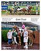 Giant Trust winning at Delaware Park on 10/7/13