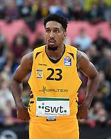 Basketball  1. Bundesliga  2016/2017  Hauptrunde  16. Spieltag  27.12.2016 Walter Tigers Tuebingen - MHP Riesen Ludwigsburg Eric McClellan (Tigers)