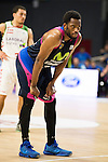 Movistar Estudiantes's Zach Graham during Liga Endesa ACB at Barclays Center in Madrid, October 11, 2015.<br /> (ALTERPHOTOS/BorjaB.Hojas)