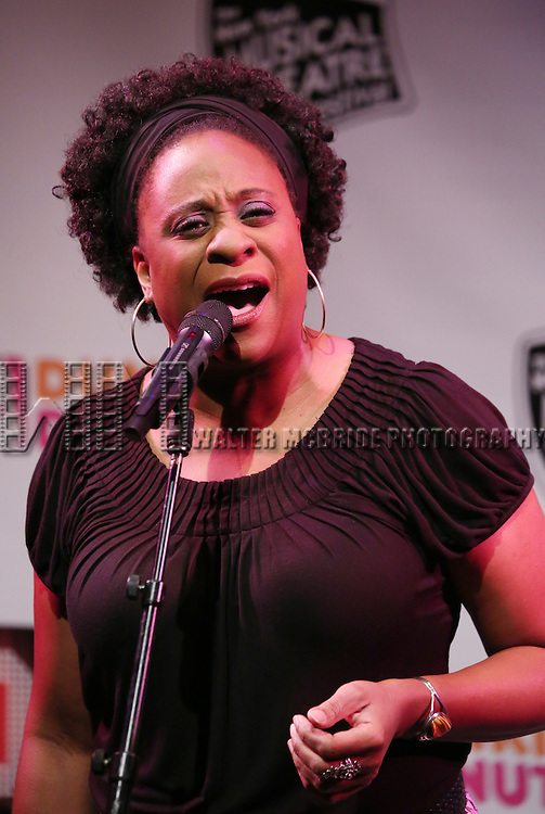 'Mother Divine' featuring Danielle Lee Greaves Performing at The New York Musical Theatre Festival - Special Preview at The Studio Theatre on July 2, 2013 in New York City.
