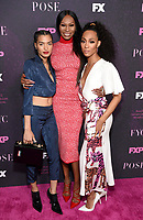"""LOS ANGELES - JUNE 1: (L-R) Cast members Indya Moore, Dominique Jackson and Mj Rodriguez attend the FYC Event for Fox 21 TV Studios & FX Networks """"Pose"""" at The Hollywood Athletic Club on June 1, 2019 in Los Angeles, California. (Photo by Stewart Cook/FX/PictureGroup)"""