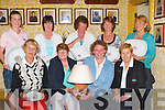 &nbsp;PRESIDENTS PRIZE: Winners of the Ardfert Lady President&rsquo;s prize on Sunday were, front l-r: Peg Clifford, Rebecca McCarthy (Lady President), Amanda Breen (overall winner) and Kathryn Kearns (Lady Captain). Back l-r: Deirdre Lawlor, Mary Savage, Kathy Lyons, Philomena Stack, Sheila O'Connor and Agnes Breen.<br />
