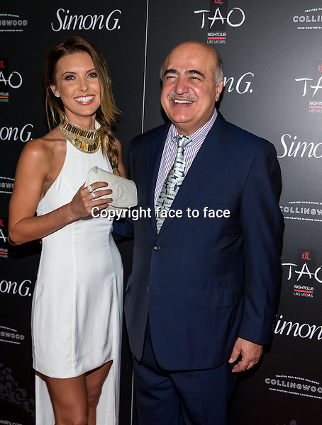 LAS VEGAS, NV - June 1: Audrina Patridge and Simon Ghanimian pictured Annual Simon G Soiree at TAO at The Venetian Las Vegas on June 1, 2013 in Las Vegas, Nevada.<br />