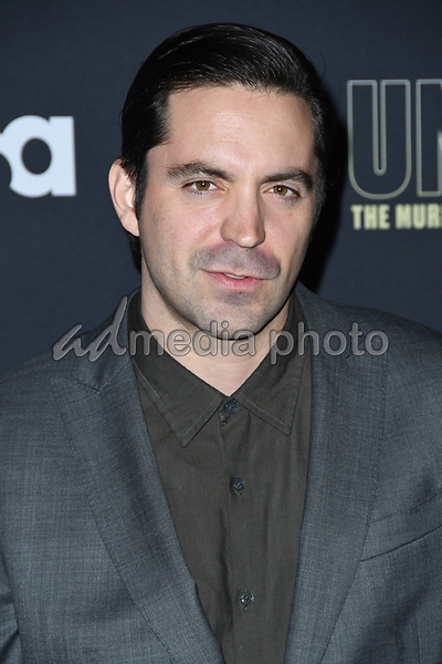 """22 February 2018 - Hollywood, California - Rhys Coiro. USA Network's """"Unsolved: The Murders of Tupac & The Notorious B.I.G."""" held at Avalon Hollywood. Photo Credit: Birdie Thompson/AdMedia"""