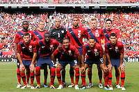United States starting eleven. The men's national team of Spain (ESP) defeated the United States (USA) 4-0 during a International friendly at Gillette Stadium in Foxborough, MA, on June 04, 2011.