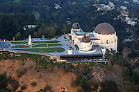 July. 10, 2009; Los Angeles, CA, USA; Aerial views of the Griffith Park Observatory near downtown Los Angeles. Mandatory Credit: Mark J. Rebilas