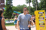 Joyce Becker's Soap Opera Festivals present Young and Restless' Daniel Goddard and Billy Miller at Six Flags Hurricane Harbor on July 26, 2009 in Jackson, New Jersey. (Photo by Sue Coflin/Max Photos)