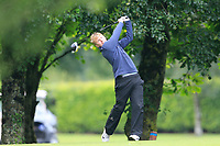 Alan Fahy (Dun Laoghaire) during the first round at the Mullingar Scratch Trophy, the last event in the Bridgestone order of merit Mullingar Golf Club, Mullingar, West Meath, Ireland. 10/08/2019.<br /> Picture Fran Caffrey / Golffile.ie<br /> <br /> All photo usage must carry mandatory copyright credit (© Golffile | Fran Caffrey)