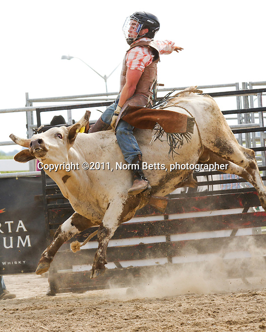 RAM Rodeo Tour , September 10&11, 2011, in Orangeville, Ontario, Canada..photographer: ©2011, Norm Betts .normbetts@canadianphotographer.com