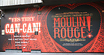 "Billboard for Billboard for ""Moulin Rouge!"" The Broadway Musical at the Al Hirschfeld Theatre on July 9, 2019 in New York City."