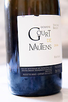 Domaine Gourt de Mautens, Rasteau. Rhone. France Europe. Bottle.