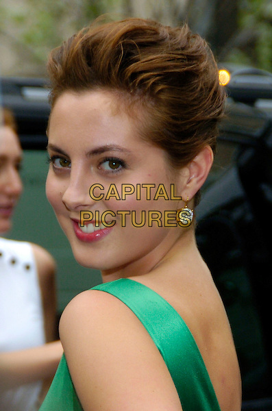 "EVA AMURRI.6th Annual Tribeca Film Festival - ""The Education of Charlie Banks"" premiere held at Clearview Chelsea West,.New York City, New York, USA,.27 April 2007..portrait headshot green over shoulder.CAP/ADM/BL.©Bill Lyons/AdMedia/Capital Pictures. *** Local Caption ***"