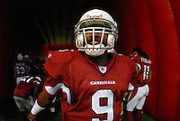 Aug 18, 2007; Glendale, AZ, USA; Arizona Cardinals quarterback Shane Boyd (9) against the Houston Texans at University of Phoenix Stadium. Mandatory Credit: Mark J. Rebilas-US PRESSWIRE Copyright © 2007 Mark J. Rebilas