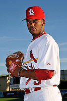 Mar 01, 2010; Jupiter, FL, USA; St. Louis Cardinals pitcher Francisco Samuel (73) during  photoday at Roger Dean Stadium. Mandatory Credit: Tomasso De Rosa/ Four Seam Images