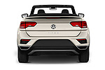 Straight rear view of 2020 Volkswagen T-Roc Style 5 Door SUV Rear View  stock images