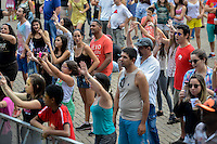 PIRACICABA,SP 24.05.2015 - VIRADA-PAULISTA - O público empolgado durante Virada Cultural Paulista na cidade de Piracicaba no interior de São Paulo (Foto: Mauricio Bento / Brazil Photo Press )