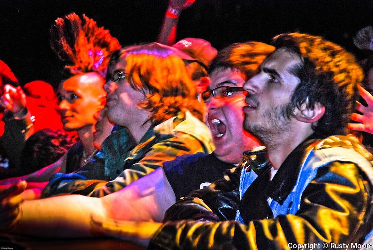 Misfits fans, October 2009 at Memorial Hall, Plymouth MA.