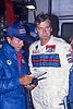 Markku ALEN (FIN), LANCIA Delta HF 4WD #4, Cesare FIORIO (ITA), Directeur Martini Lancia Rally Team, 1000 LAKES RALLY 1987