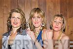 Aoife O'Carroll Kilcummin, Marie McGillicuddy Killorglin and Liannah Sheehy Killorglin modelling at the Muckross Rowing club fashion show in Hotel Europe, Killarney on Wednesday evening