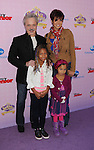 """BURBANK, CA - NOVEMBER 10: Jim Cummings and family arrive at the Disney Channel's Premiere Party For """"Sofia The First: Once Upon A Princess"""" at the Walt Disney Studios on November 10, 2012 in Burbank, California."""