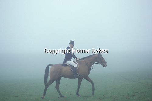 Duke of Beaufort Hunt Gloucestershire. The badminton Estate.
