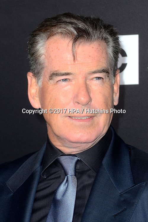 "LOS ANGELES - APR 3:  Pierce Brosnan at the AMC's ""The Son"" Season One LA Premiere at ArcLight Theater on April 3, 2017 in Los Angeles, CA"