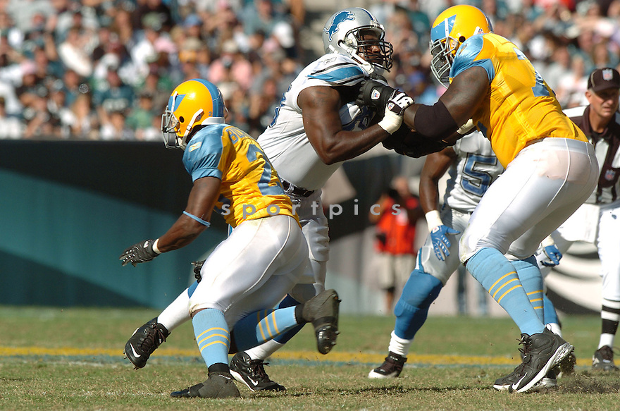 CORY REDDING, of the Detroit Lions, in action during the LIons games against the Philadelphia Eagles, in Philadelphia, PA on September 23, 2007.  The Eagles won the game 56-21...........