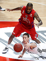 REAL MADRID v CSKA MOSCOW.EUROLEAGUE 2012/2013