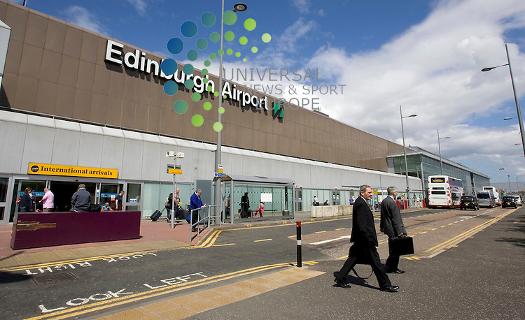Edinburgh Airport is to be sold by operator BAA after it was told by competition regulators to let go of one of its Scottish hubs. BAA is now beginning preparations for a sale and expects to formally approach the market in the New Year with a view to agreeing a sale by Summer 2012. The organisation's chief executive Colin Matthews said they would be &quot;very sorry to see it leave BAA&quot;. The firm will keep Aberdeen Airport and Glasgow Airport.<br /> Picture: Universal News and Sport (Scotland) 20/5/10.