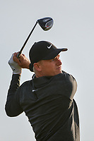 Adam Long (USA) watches his tee shot on 11 during day 2 of the Valero Texas Open, at the TPC San Antonio Oaks Course, San Antonio, Texas, USA. 4/5/2019.<br /> Picture: Golffile | Ken Murray<br /> <br /> <br /> All photo usage must carry mandatory copyright credit (© Golffile | Ken Murray)