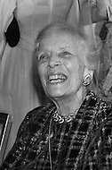 The mother of Governor W. Averell Harriman at the fund raising dinner held by The Democratic Study Group in her son's honour, at the Sheraton Park Hotel in Washington.