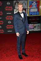 Joonas Suotamo at the world premiere for &quot;Star Wars: The Last Jedi&quot; at the Shrine Auditorium. Los Angeles, USA 09 December  2017<br /> Picture: Paul Smith/Featureflash/SilverHub 0208 004 5359 sales@silverhubmedia.com
