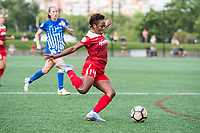 Boston, MA - Saturday July 01, 2017: Francisca Ordega during a regular season National Women's Soccer League (NWSL) match between the Boston Breakers and the Washington Spirit at Jordan Field.
