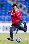 Muangthong Midfielder Sanukran Thinjom in action during the AFC Champions League 2017 Group E match between  Ulsan Hyundai FC (KOR) vs Muangthong United (THA) at the Ulsan Munsu Football Stadium on 14 March 2017 in Ulsan, South Korea. Photo by Chung Yan Man / Power Sport Images